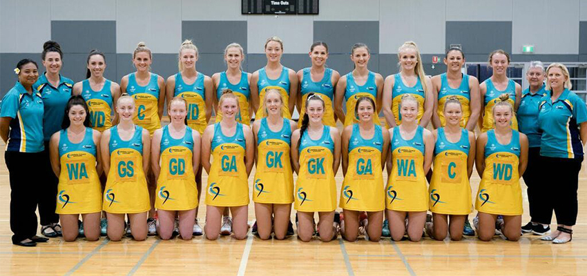 Central Coast Heart Netball uniform