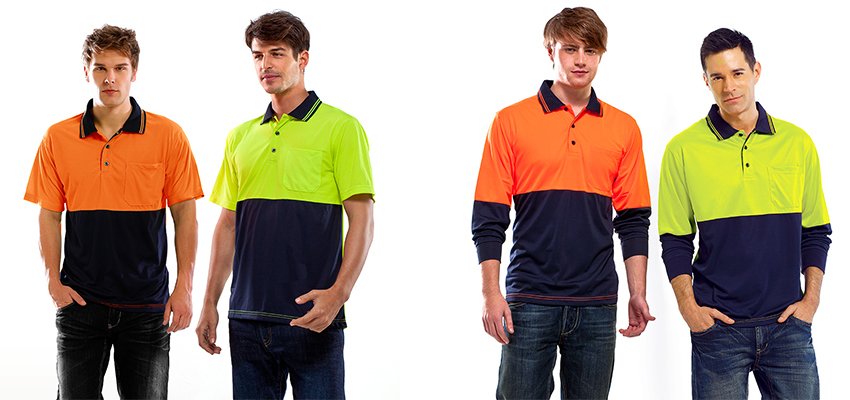 Hi vis workwear t-shirts